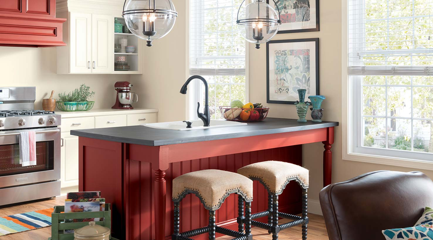 Best ideas about Kitchen Ideas Colours . Save or Pin Kitchen Color Inspiration Gallery – Sherwin Williams Now.