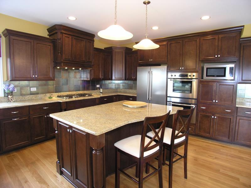 Best ideas about Kitchen Ideas With Dark Cabinets . Save or Pin 21 Dark Cabinet Kitchen Designs Now.