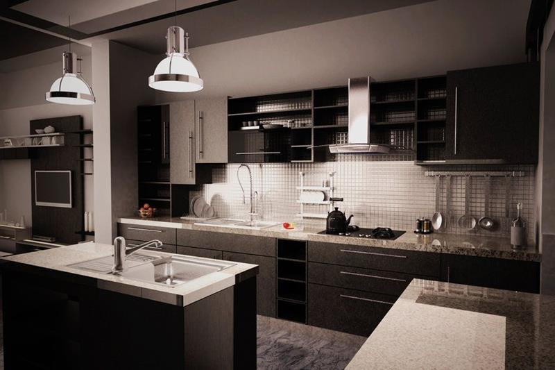 Best ideas about Kitchen Ideas With Dark Cabinets . Save or Pin 21 Dark Cabinet Kitchen Designs Page 2 of 5 Now.