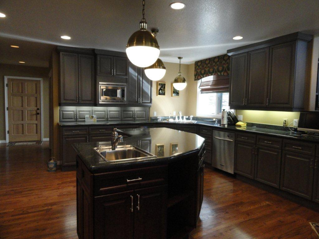 Best ideas about Kitchen Ideas With Dark Cabinets . Save or Pin 25 TRADITIONAL DARK KITCHEN CABINETS Godfather Style Now.