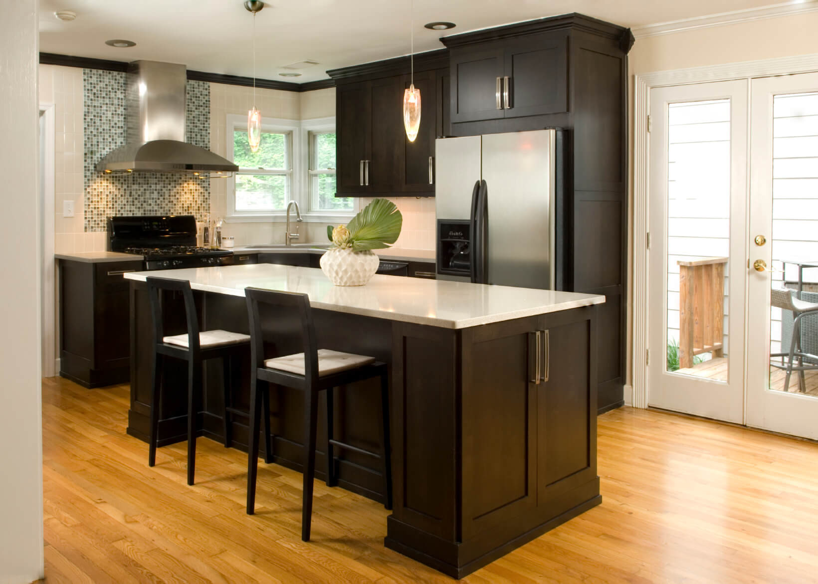 Best ideas about Kitchen Ideas With Dark Cabinets . Save or Pin 52 Dark Kitchens with Dark Wood and Black Kitchen Cabinets Now.