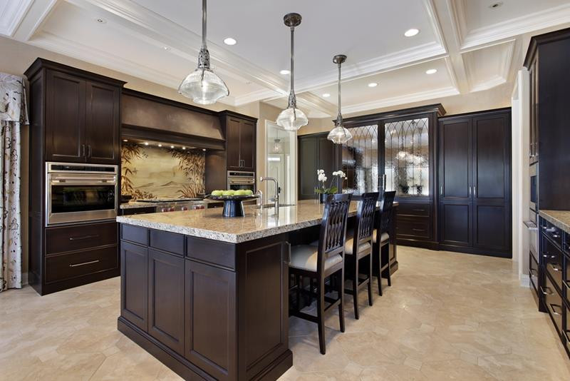 Best ideas about Kitchen Ideas With Dark Cabinets . Save or Pin 20 Beautiful Kitchens with Dark Kitchen Cabinets Now.