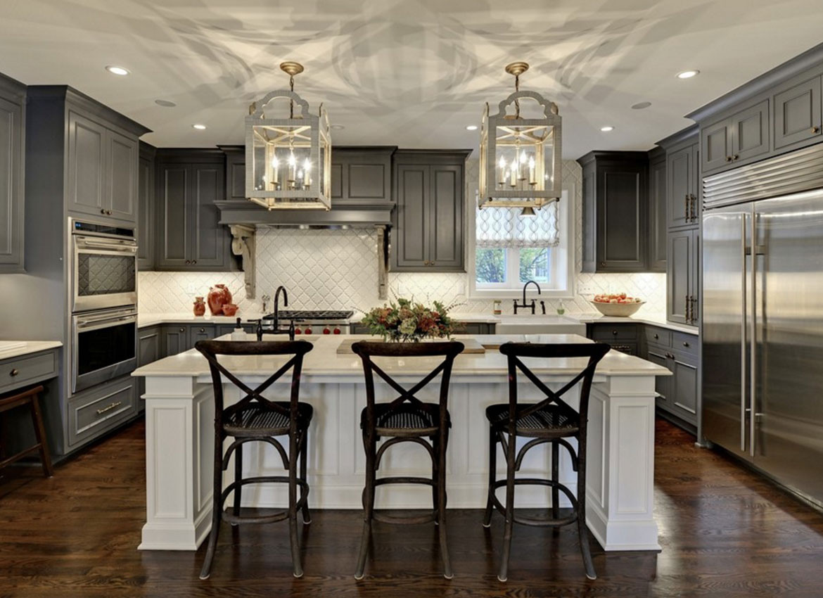 Best ideas about Kitchen Ideas With Dark Cabinets . Save or Pin 30 Classy Projects With Dark Kitchen Cabinets Now.