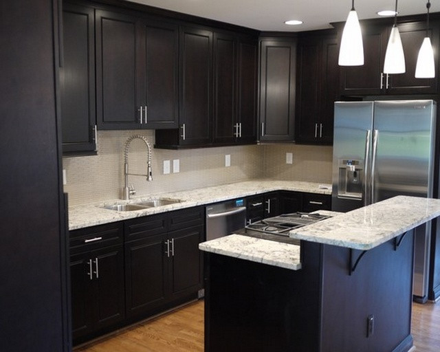Best ideas about Kitchen Ideas With Dark Cabinets . Save or Pin The Designs for Dark Cabinet Kitchen Now.