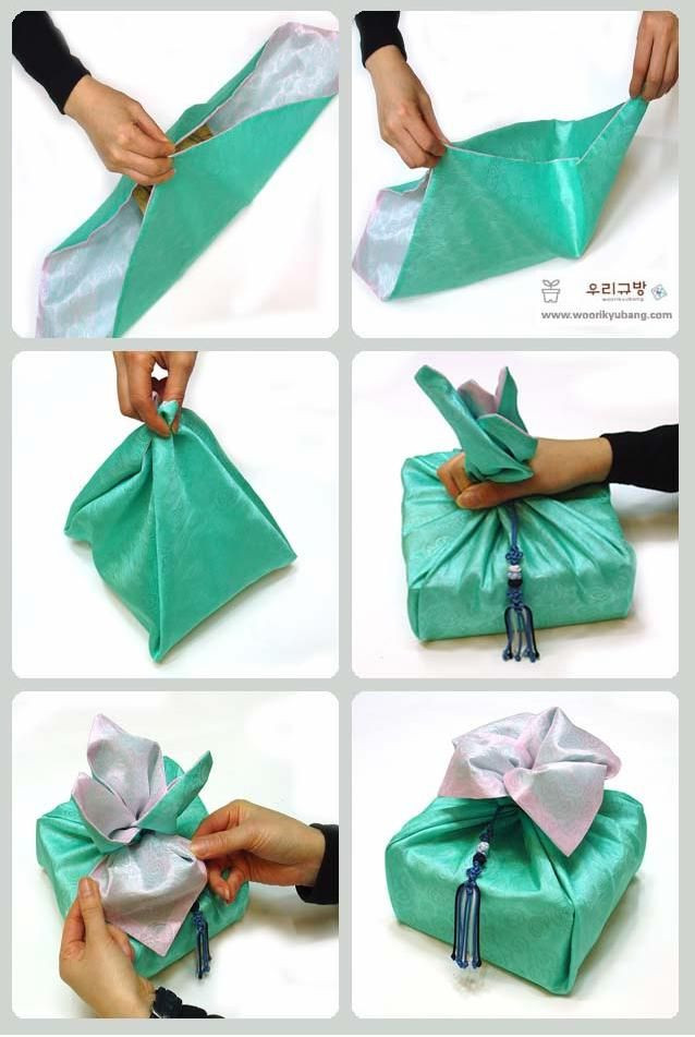 Best ideas about Korean Gift Ideas . Save or Pin Use of Bojagi on a Dol Table Korean 1st Birthday Now.
