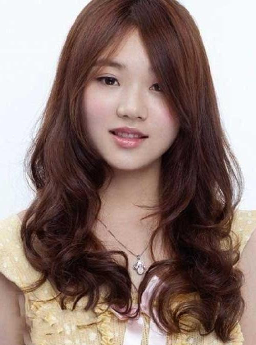 Best ideas about Korean Hairstyle For Round Face Female . Save or Pin 15 Collection of Korean Hairstyle With Round Face Now.