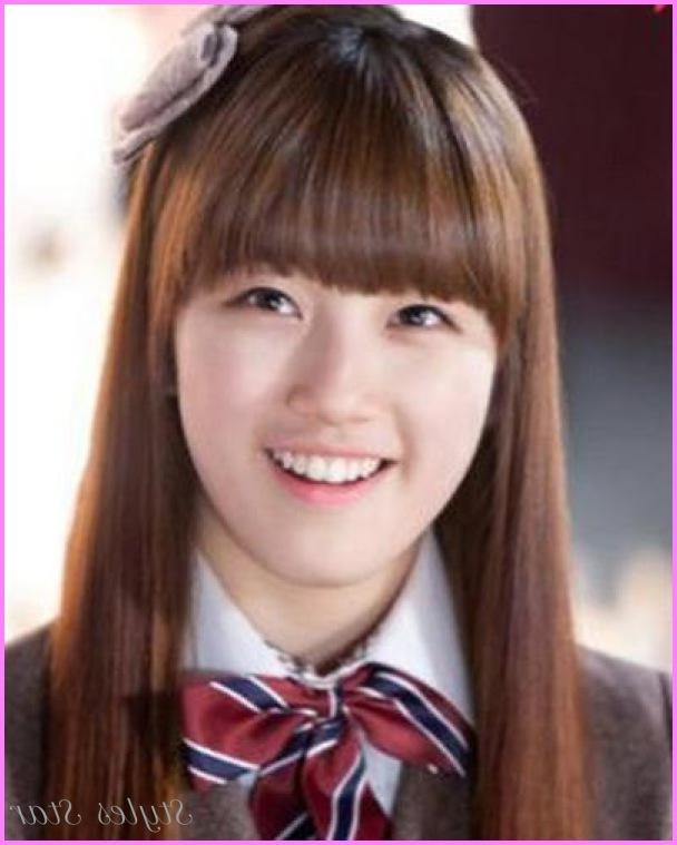 Best ideas about Korean Hairstyle For Round Face Female . Save or Pin 20 of Korean Haircuts For Round Face Now.