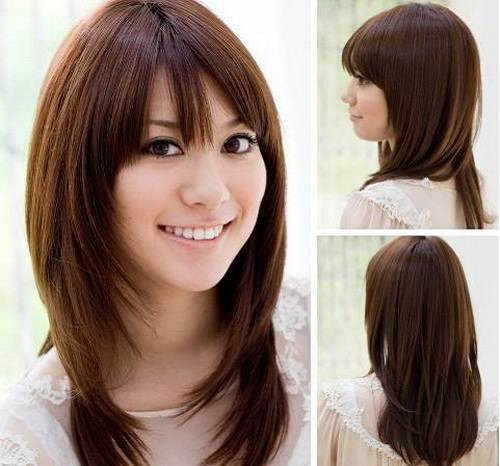 Best ideas about Korean Hairstyle For Round Face Female . Save or Pin Korean Hairstyle Women Round Face Now.