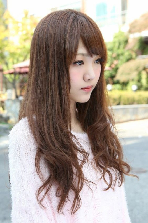 Best ideas about Kpop Hairstyles Female . Save or Pin Side View of Korean Long Hairstyle Pinterest Now.