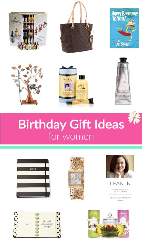 Best ideas about Ladies Birthday Gifts . Save or Pin 10 Birthday Gift Ideas for Women Vivid s Now.