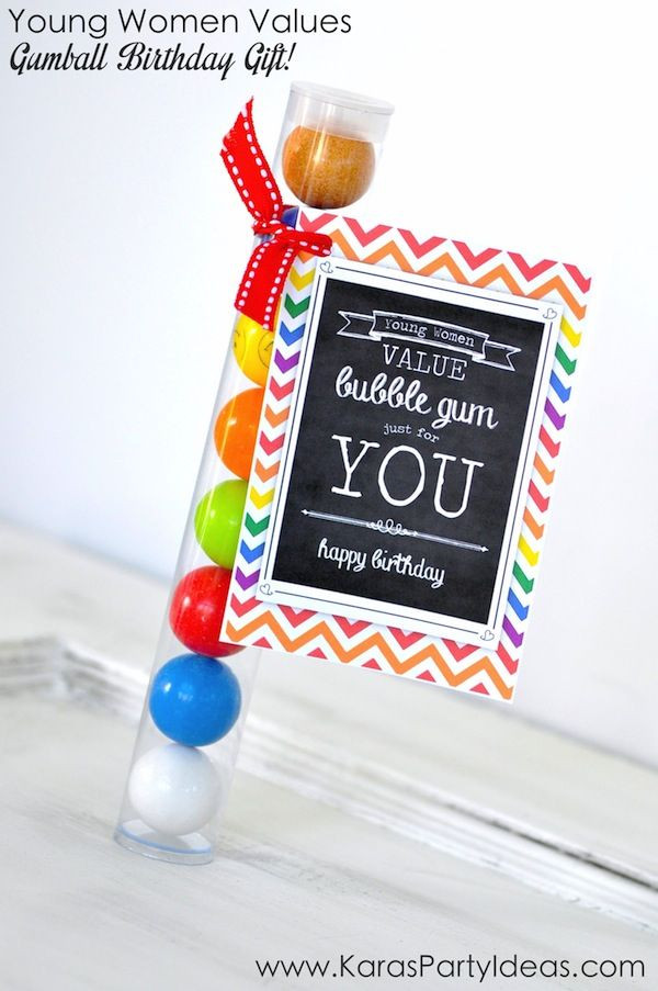 Best ideas about Ladies Birthday Gifts . Save or Pin Gumball Tube Young Women Value Birthday Gift Idea Now.