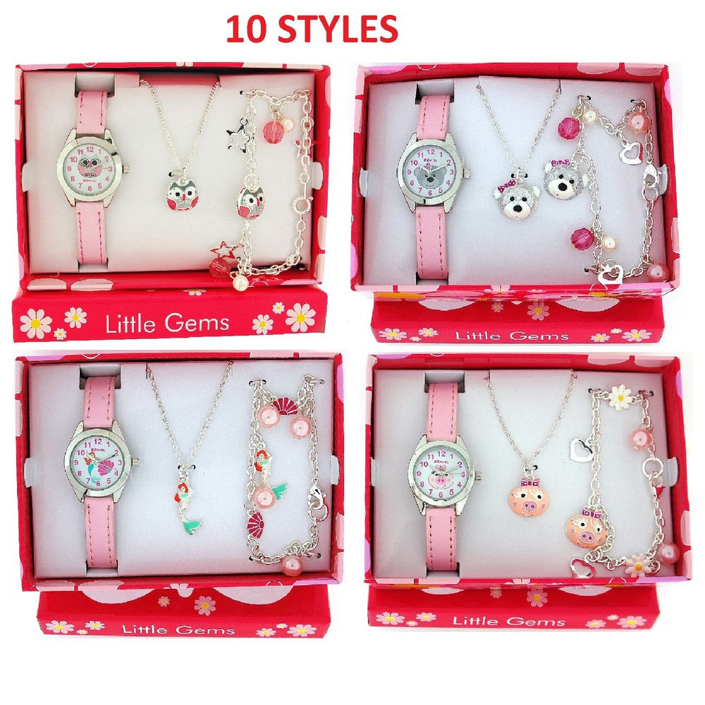 Best ideas about Ladies Birthday Gifts . Save or Pin Ravel Girls Watch & Jewellery Cute Little Gems Children s Now.