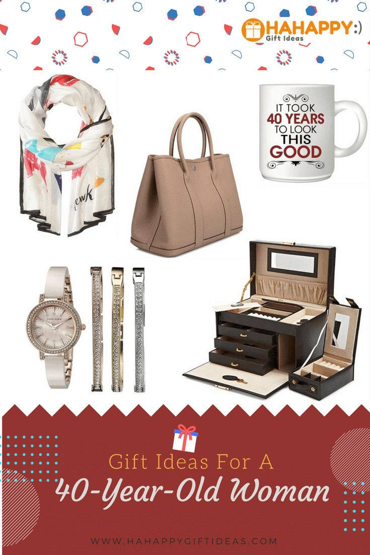 Best ideas about Ladies Birthday Gifts . Save or Pin 17 Delightful Gift Ideas for a 40 Year Old Woman Now.