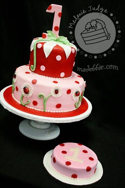 Best ideas about Ladybug Birthday Cake . Save or Pin Cake Walk Lady Bug 1st Birthday Cake & Cookies Now.