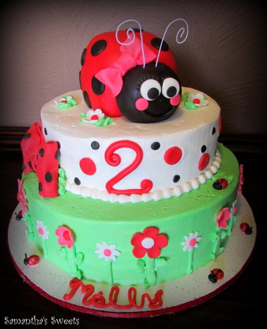 Best ideas about Ladybug Birthday Cake . Save or Pin Ladybug Birthday Cake CakeCentral Now.