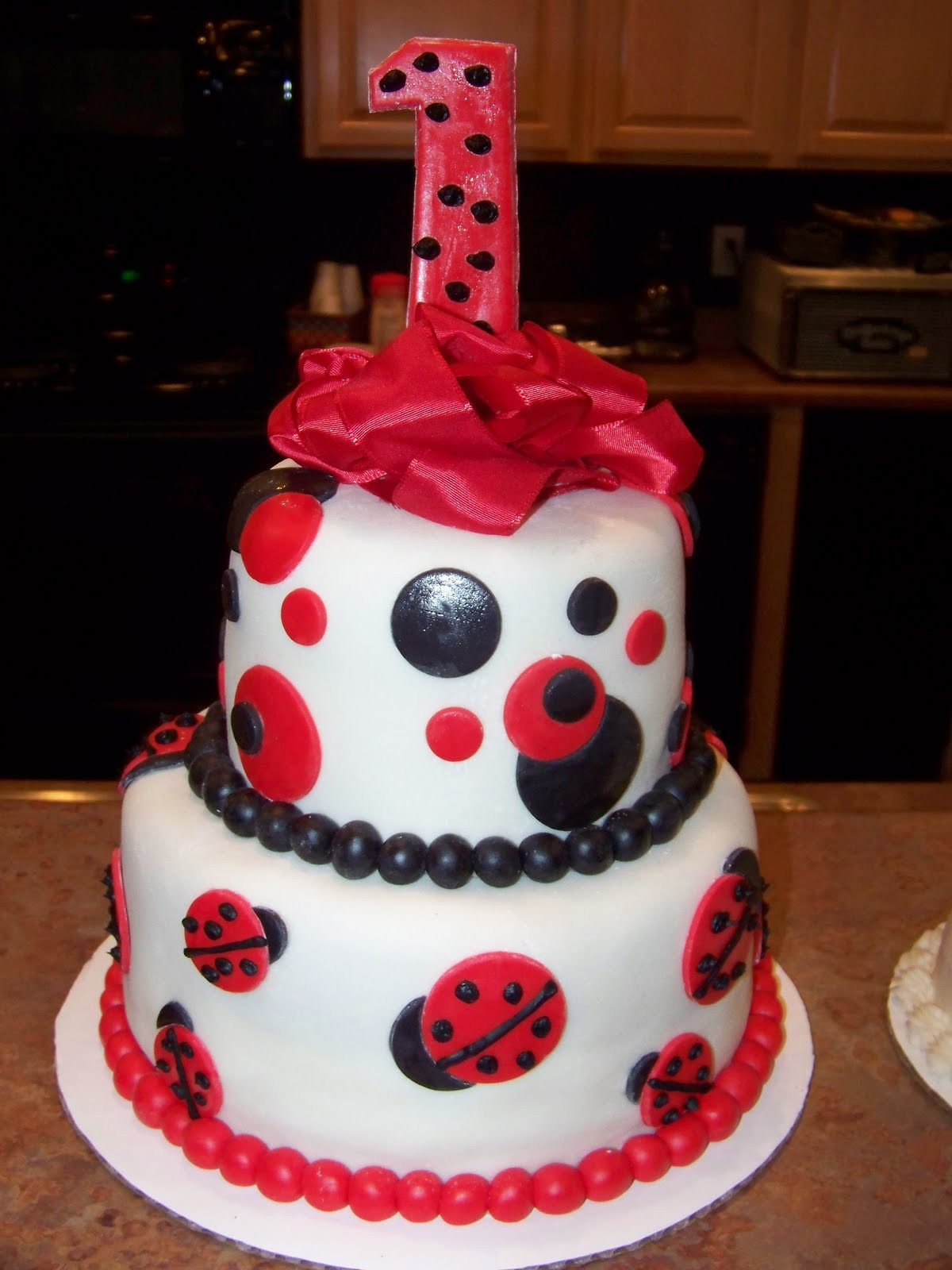 Best ideas about Ladybug Birthday Cake . Save or Pin Sweet Girl Cupcakes and Invitations Now.