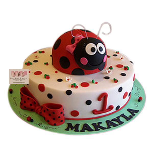 Best ideas about Ladybug Birthday Cake . Save or Pin 1645 1st Birthday Ladybug Cake ABC Cake Shop & Bakery Now.