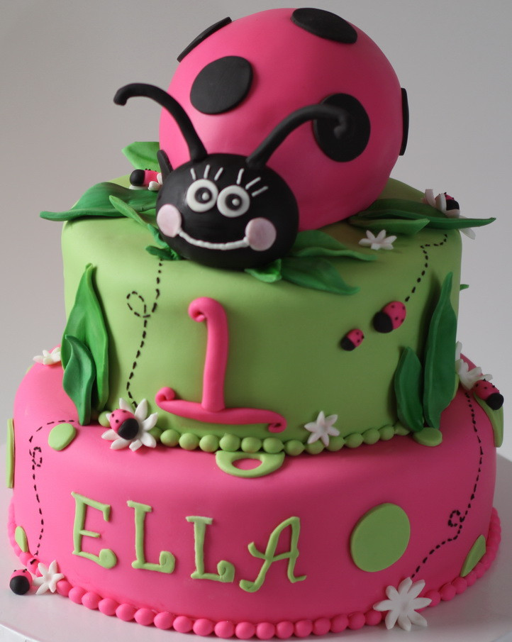 Best ideas about Ladybug Birthday Cake . Save or Pin DearSophiaMarie Cake Design for Sophie s bday Now.