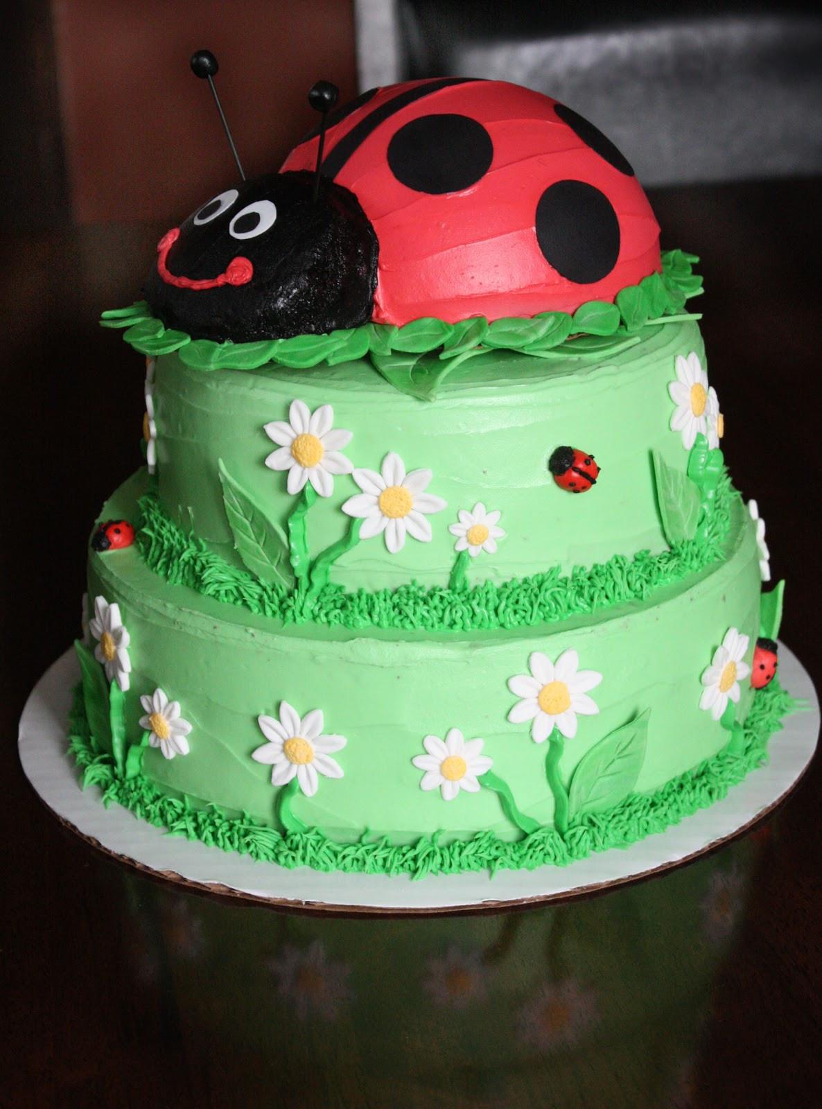Best ideas about Ladybug Birthday Cake . Save or Pin Straight to Cake Ladybug 1st Birthday Now.