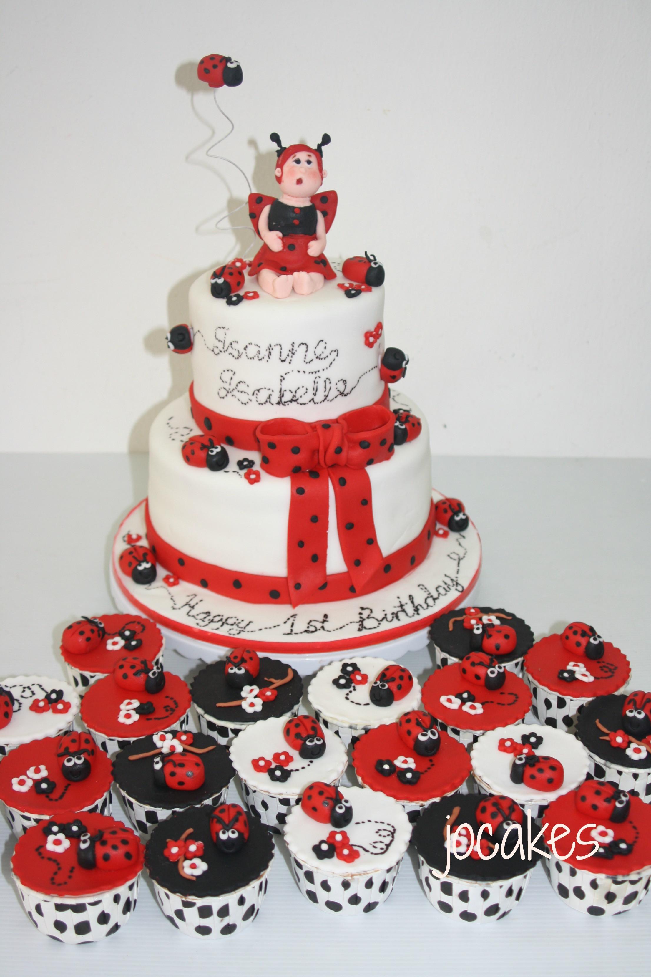 Best ideas about Ladybug Birthday Cake . Save or Pin Ladybug cake Now.