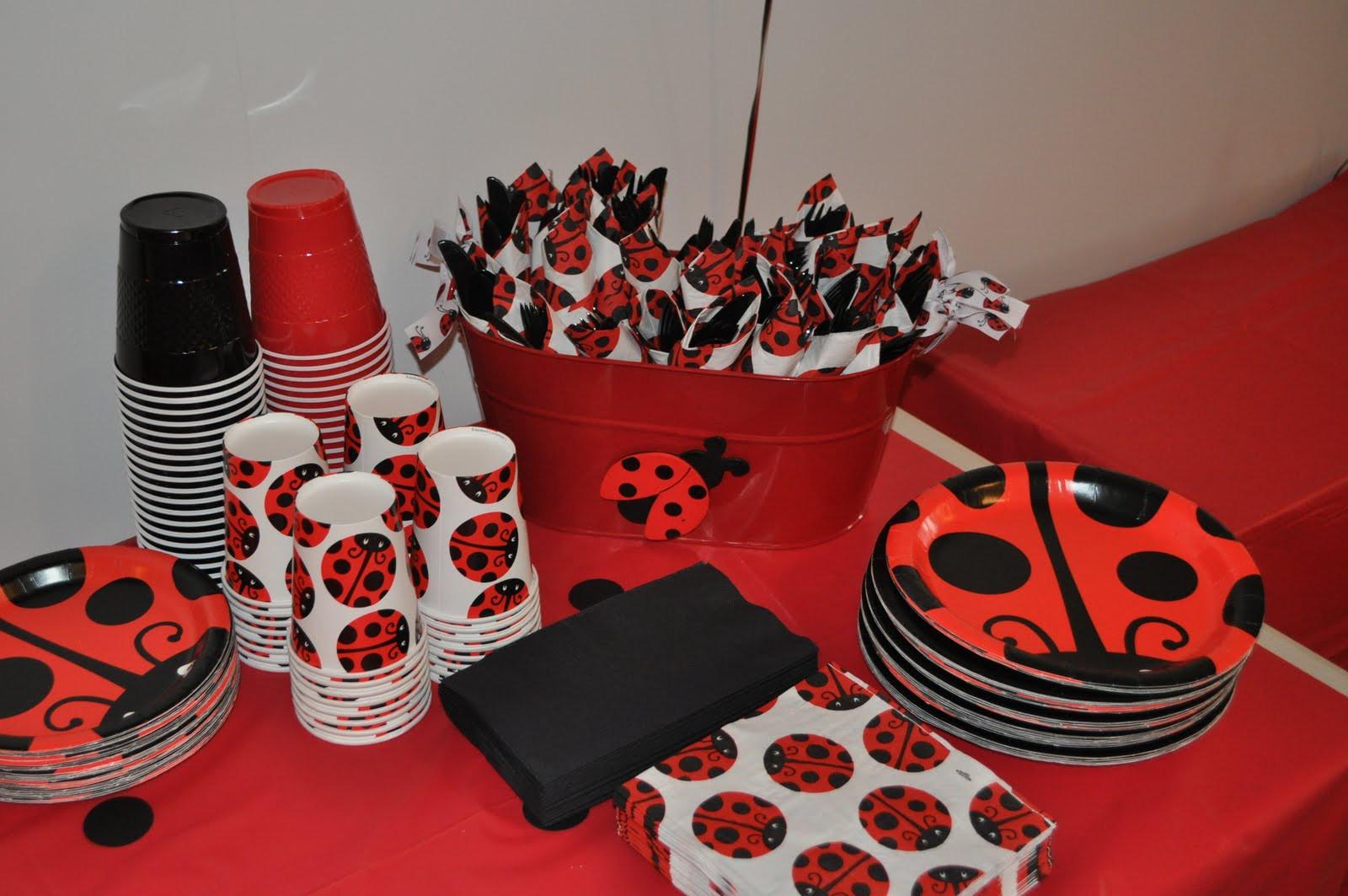 Best ideas about Ladybug Birthday Decorations . Save or Pin Lance Shelby Gracelyn & Myla Ladybug Ladybug Now.