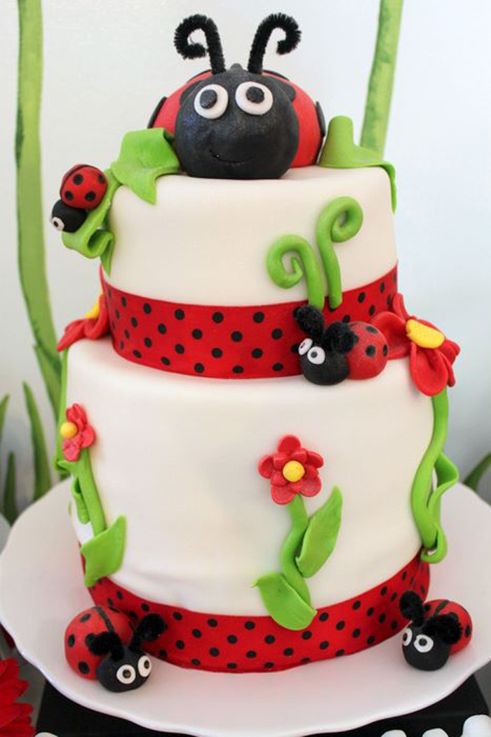 Best ideas about Ladybug Birthday Decorations . Save or Pin Kara s Party Ideas Lovebug 2nd Birthday Party via Kara s Now.