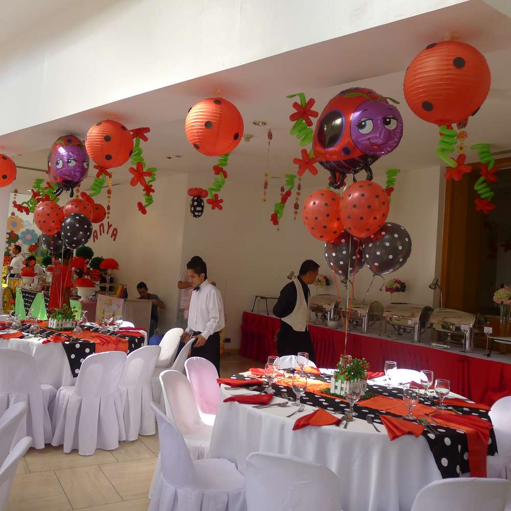 Best ideas about Ladybug Birthday Decorations . Save or Pin Ladybug Birthday Party Ideas 5 of 30 Now.