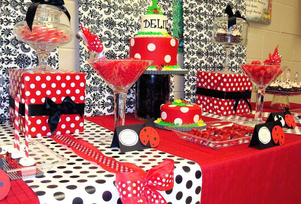 Best ideas about Ladybug Birthday Decorations . Save or Pin Ladybug Birthday Party Ideas 15 of 16 Now.