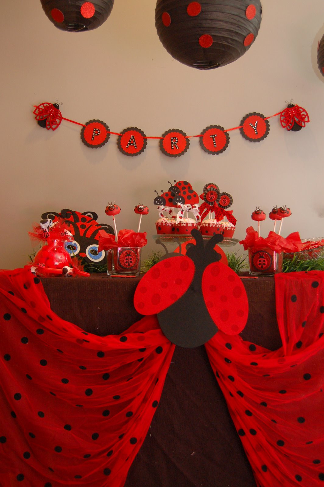 Best ideas about Ladybug Birthday Decorations . Save or Pin Maddyson s Lane Lady Bug Party Now.