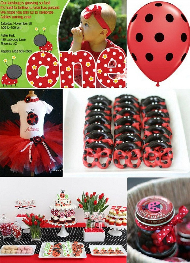 Best ideas about Ladybug Birthday Decorations . Save or Pin Ideas For A Ladybug Themed 1st Birthday Party Now.