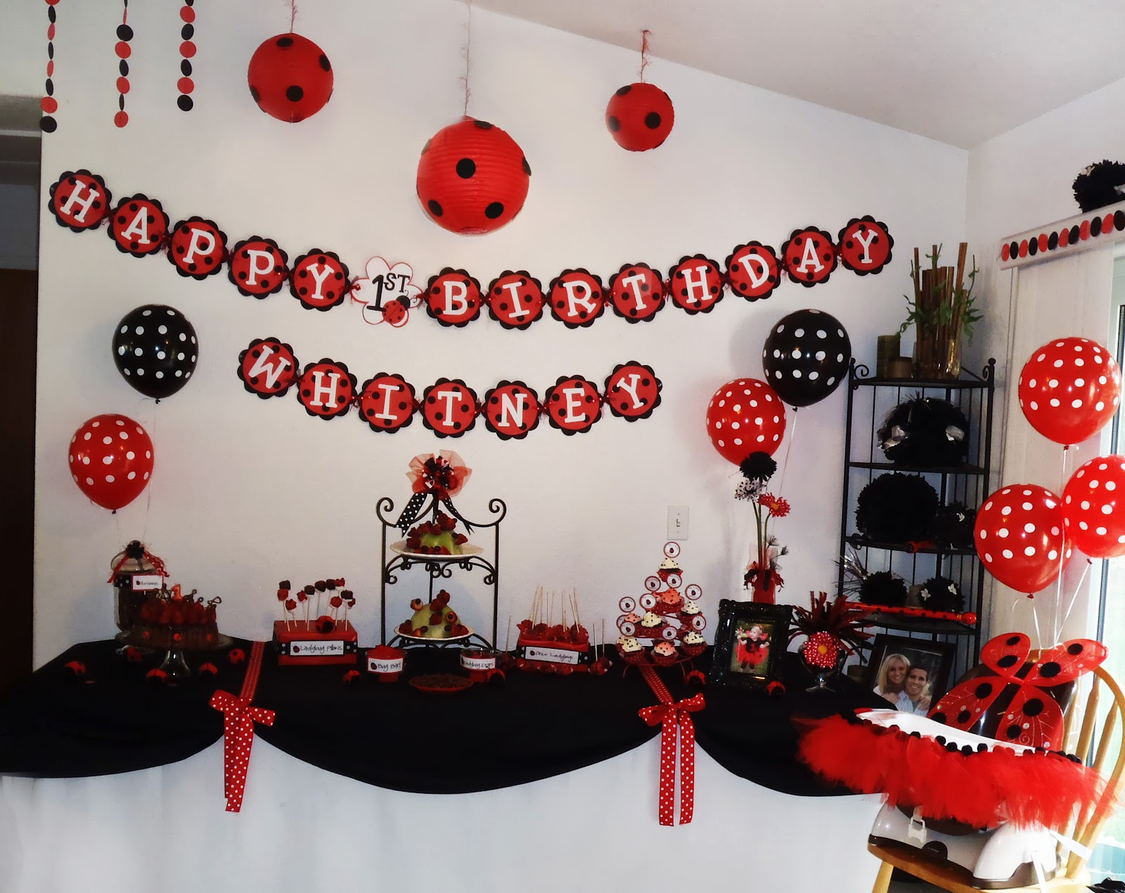 Best ideas about Ladybug Birthday Party . Save or Pin Sutherlands 2008 2012 Whitney s Ladybug Birthday Party Now.