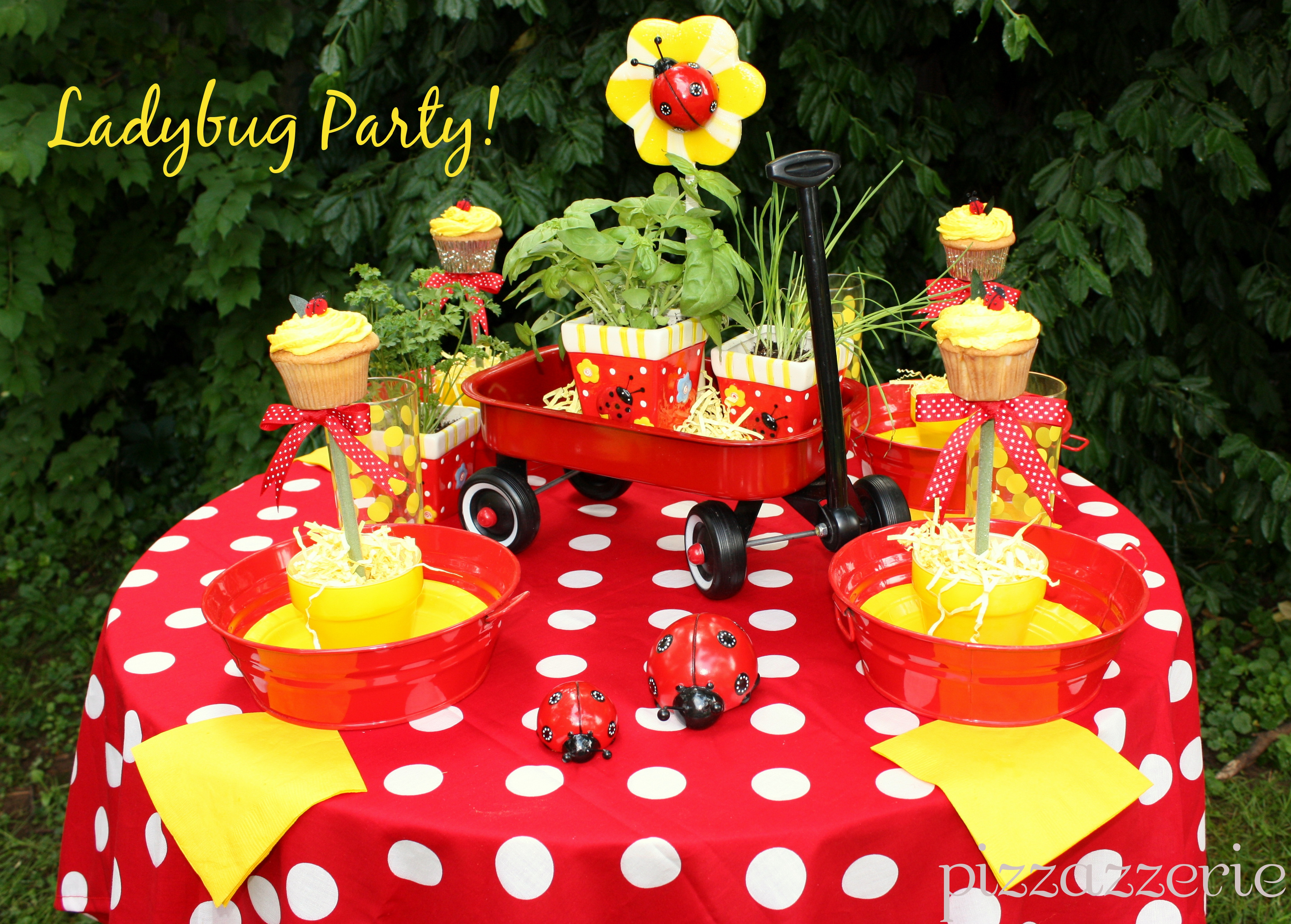 Best ideas about Ladybug Birthday Party . Save or Pin Ladybug Garden Party Now.