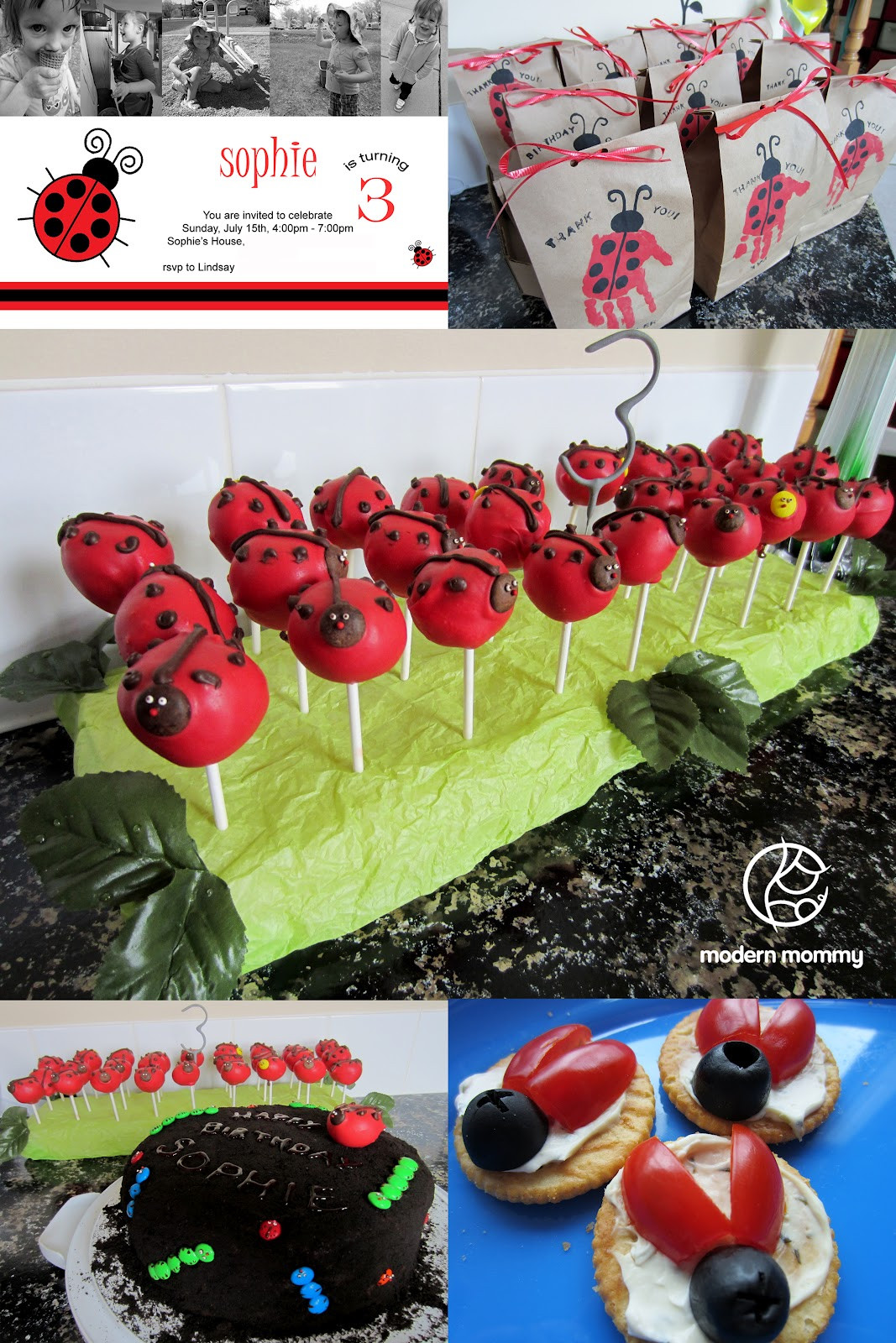 Best ideas about Ladybug Birthday Party . Save or Pin Modern Mommy A Ladybug Birthday Party Now.