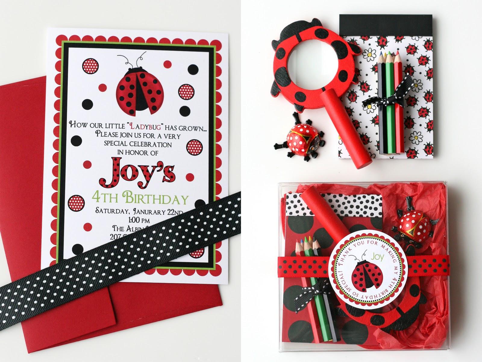 Best ideas about Ladybug Birthday Party . Save or Pin Joy's Ladybug Birthday – Glorious Treats Now.