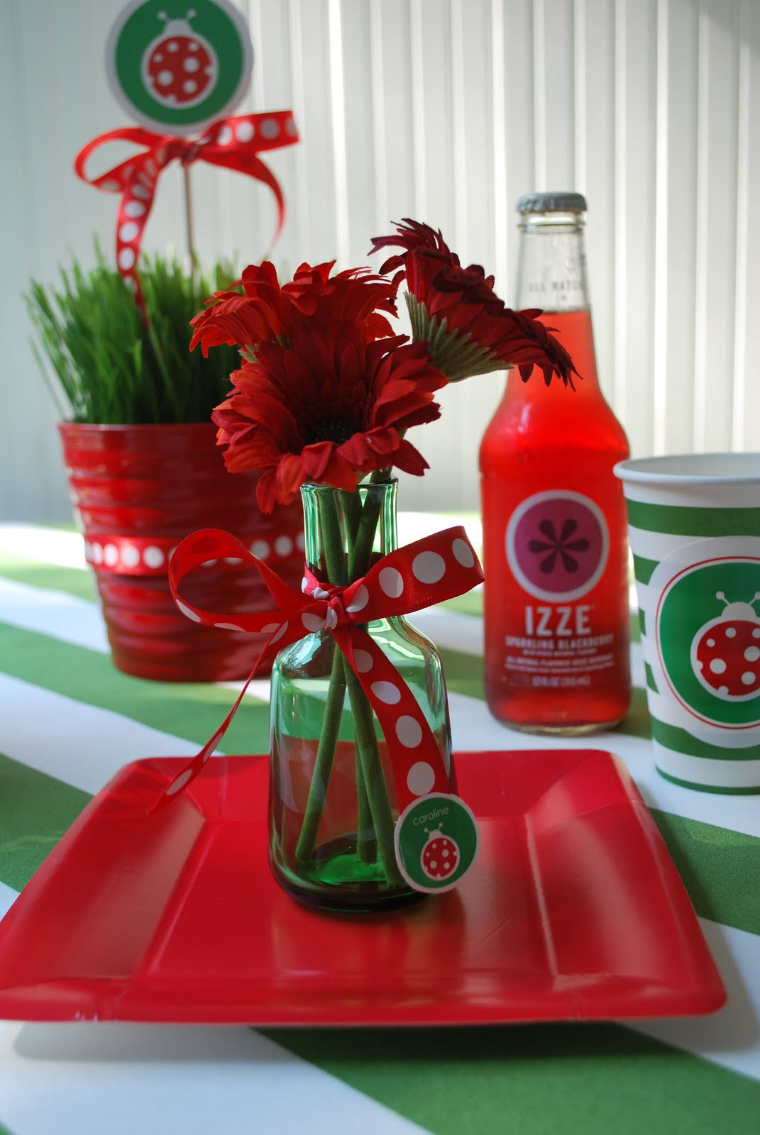 Best ideas about Ladybug Birthday Party . Save or Pin Flour Girl Lady Bug Party Now.