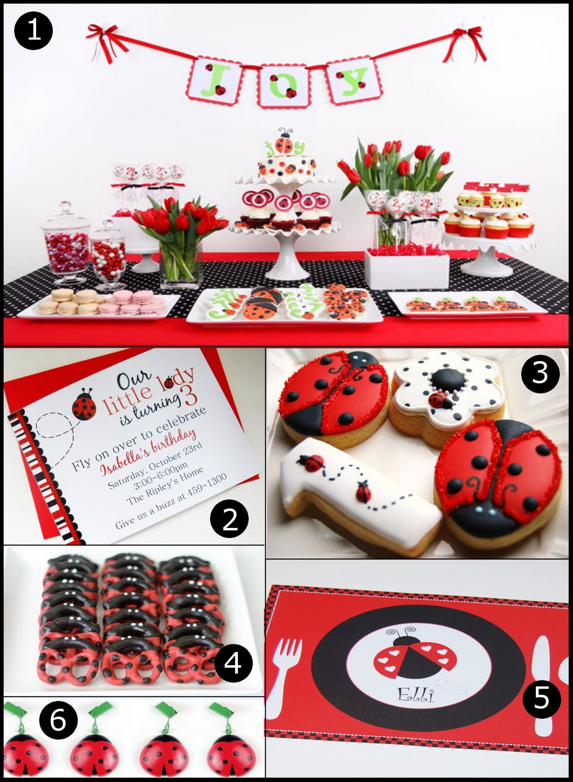 Best ideas about Ladybug Birthday Party . Save or Pin Ladybug Party Ideas Delightfully Noted Now.