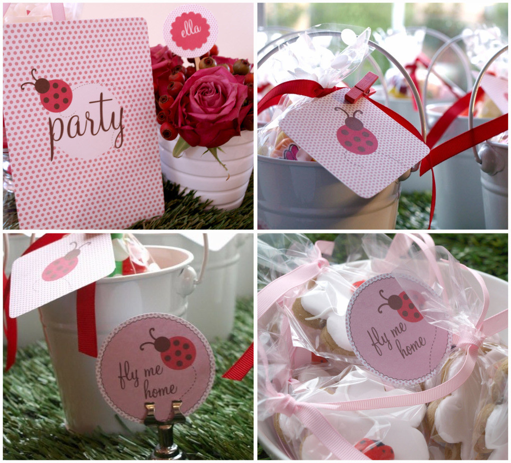 Best ideas about Ladybug Birthday Party . Save or Pin Red & Pink Ladybug Party Celebrations at Home Now.