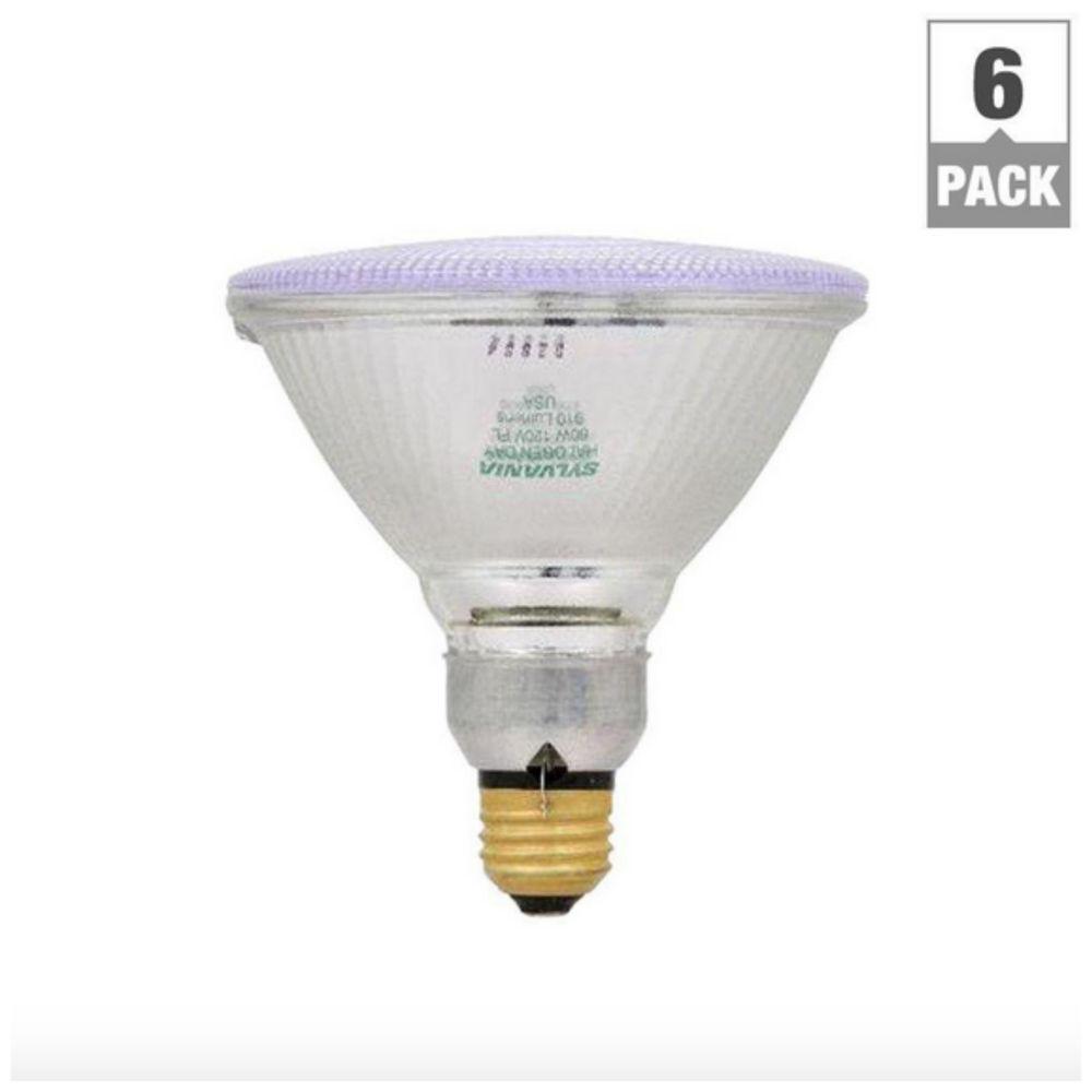 Best ideas about Landscape Light Bulbs . Save or Pin 60 Watt Halogen Flood Spot Light Bulb 6 Pack Bulbs Par38 Now.