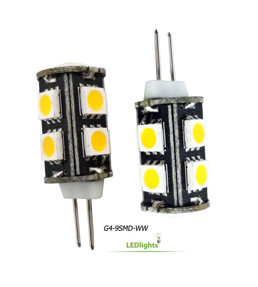 Best ideas about Landscape Light Bulbs . Save or Pin 2 G4 Base LED Light Bulbs 12V AC DC for Landscape Lighting Now.