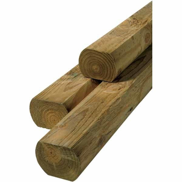 Best ideas about Landscape Timbers Lowes . Save or Pin Landscape Timber mon 3 x 4 Actual 2 62 in x 3 66 in Now.
