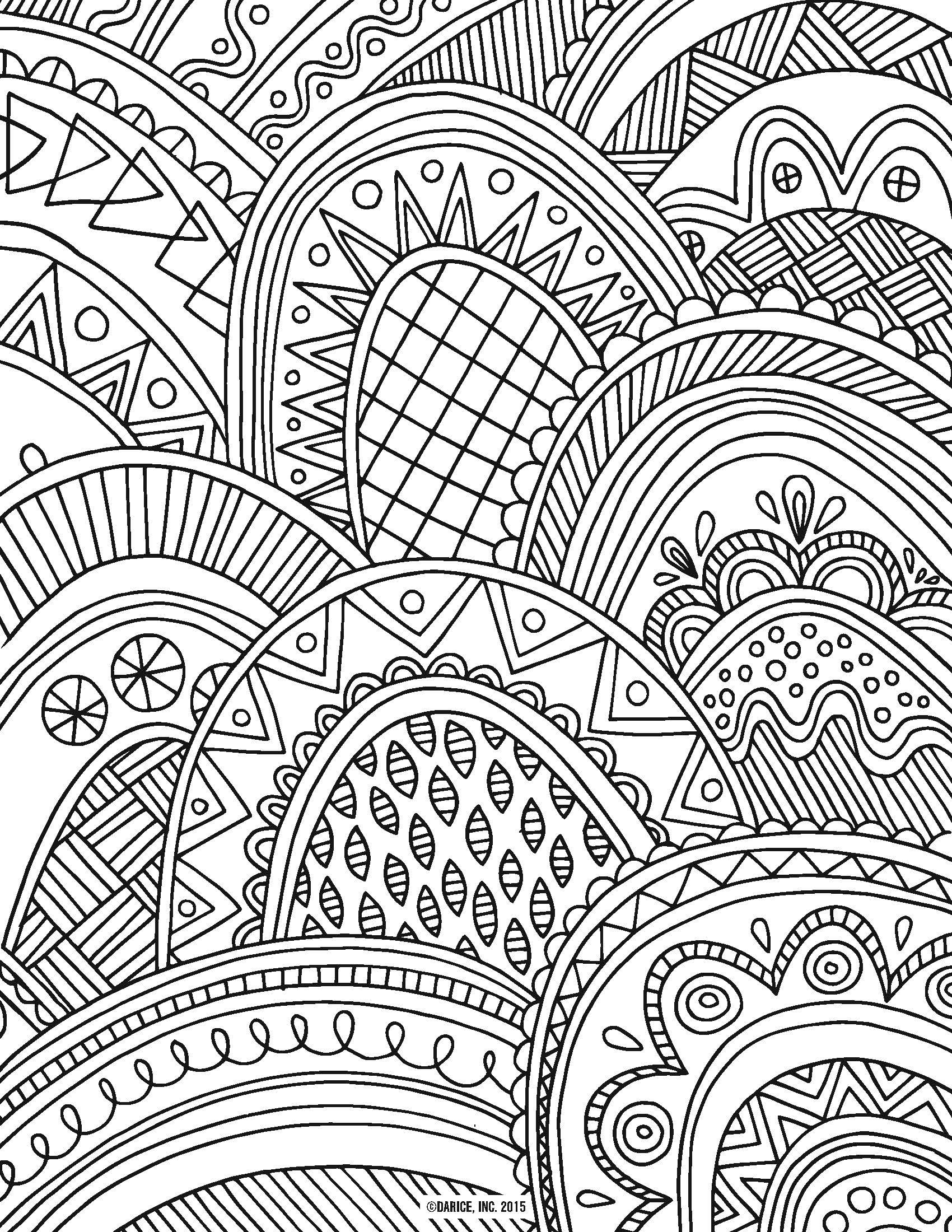 Best ideas about Large Adult Coloring Books . Save or Pin 9 Free Printable Adult Coloring Pages Now.