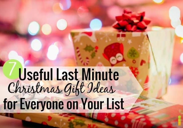 Best ideas about Last Minute Christmas Gift Ideas . Save or Pin 7 Useful Last Minute Christmas Gift Ideas for Everyone on Now.