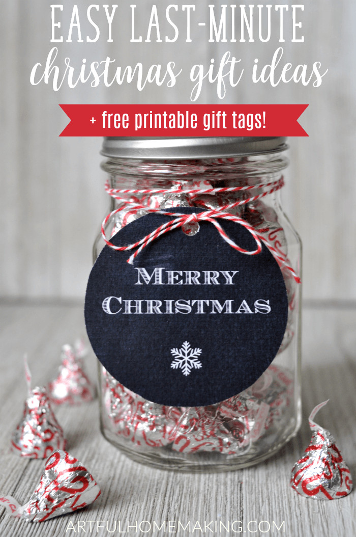 Best ideas about Last Minute Christmas Gift Ideas . Save or Pin Last Minute Christmas Gift Ideas in Mason Jars Artful Now.