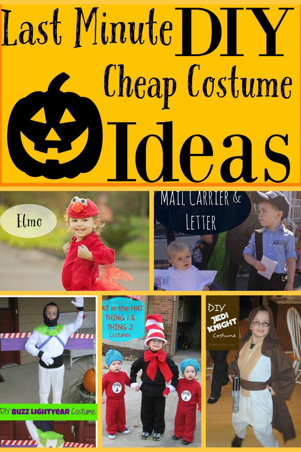 Best ideas about Last Minute DIY Costume . Save or Pin Last Minute Cheap DIY Halloween Costume Round Up The Now.