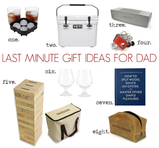 Best ideas about Last Minute Gift Ideas For Dad . Save or Pin Cottage and Vine Last Minute Gift Ideas for Dad Now.