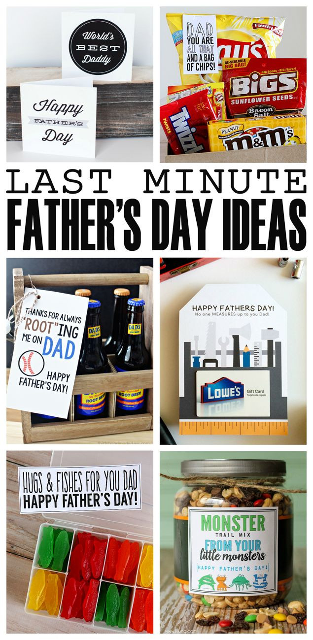 Best ideas about Last Minute Gift Ideas For Dad . Save or Pin Last Minute Father s Day Ideas Now.