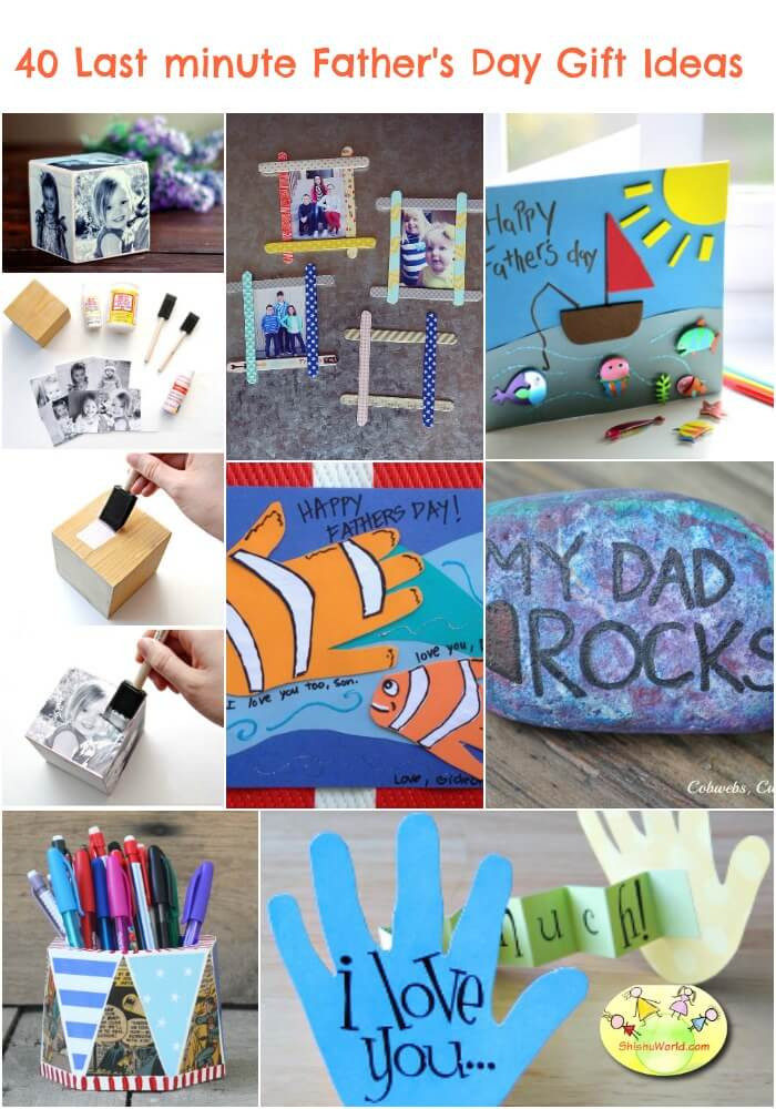 Best ideas about Last Minute Gift Ideas For Dad . Save or Pin 40 Last Minute Father s Day t ideas DIY and Ready made Now.