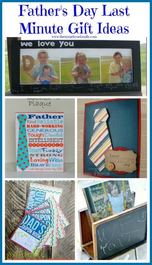 Best ideas about Last Minute Gift Ideas For Dad . Save or Pin Father's Day Last Minute Gift Ideas The Melrose Family Now.