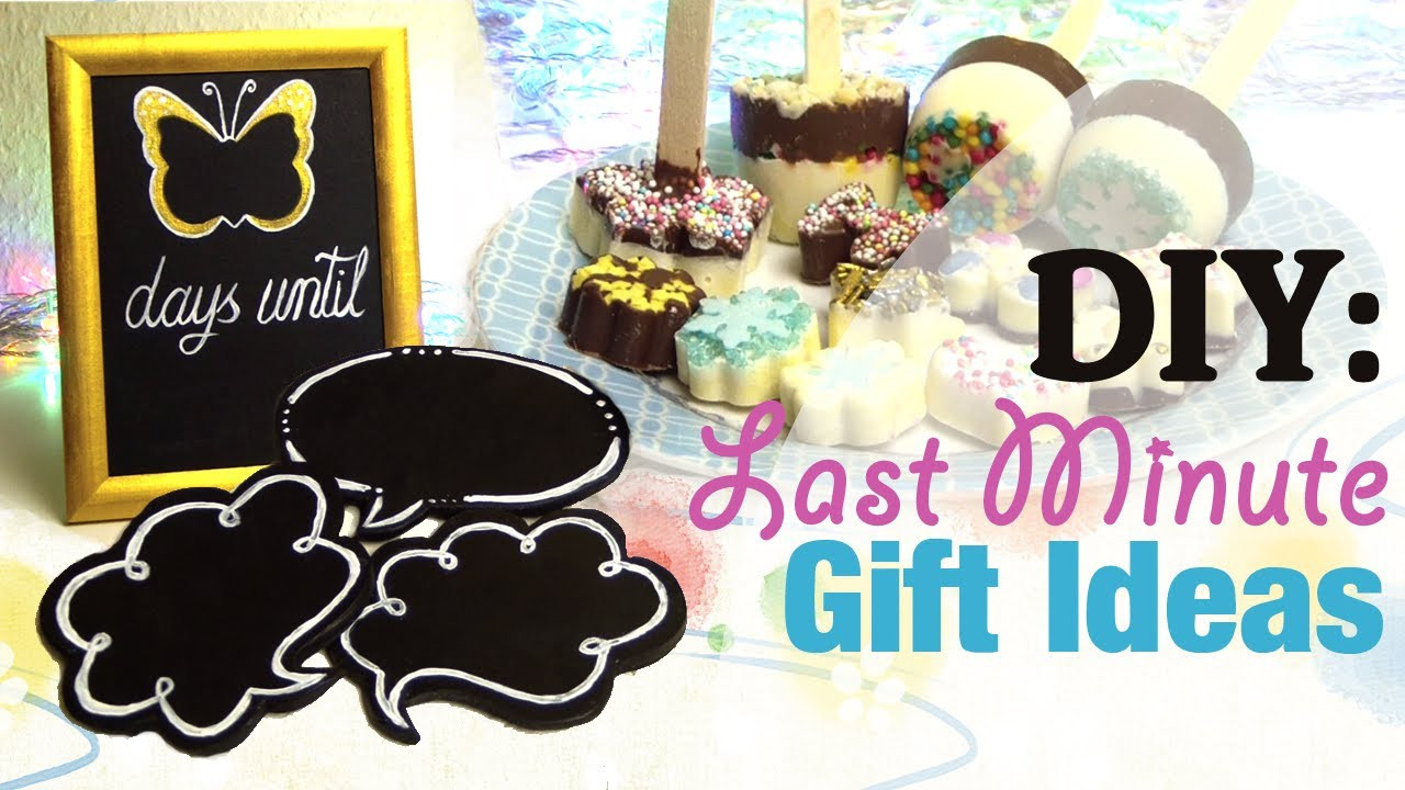 Best ideas about Last Minute Gift Ideas For Friend . Save or Pin DIY Last Minute Gift Ideas Birthday Now.
