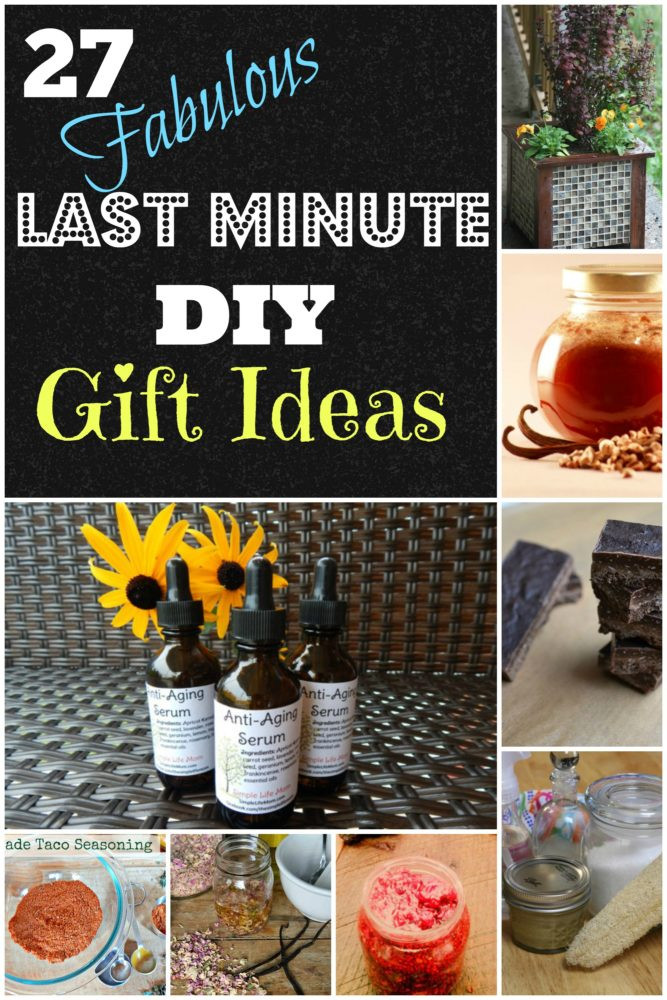 Best ideas about Last Minute Gift Ideas For Friend . Save or Pin 27 Last Minute DIY Gift Ideas Simple Life Mom Now.